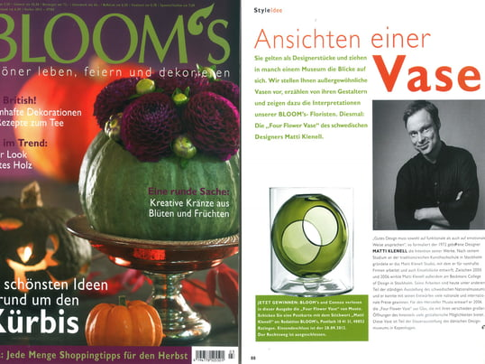 Bloom`s Herbst 2012, Presse