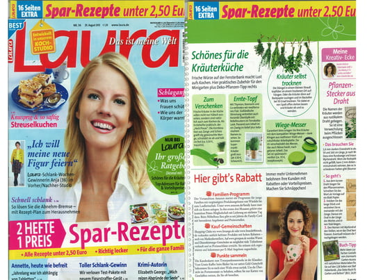 Laura August 2012 Cover - Artikel