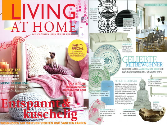 Presse Living at Home Nr. 1 / 2013 , Einzelabbildung