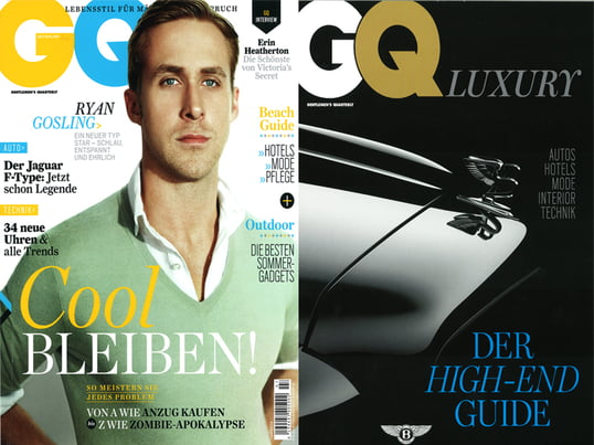 GQ Luxury, Juli 2013, S.12
