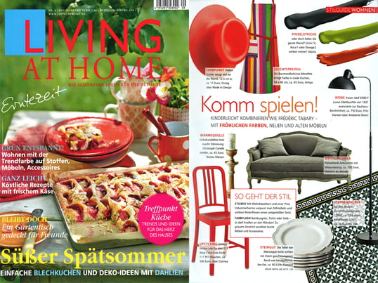 Presse Living at Home Nr. 9 / 2013