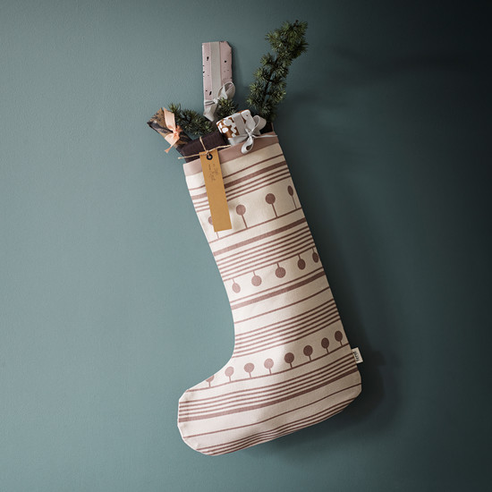 Winterland Christmas Stocking von ferm Living
