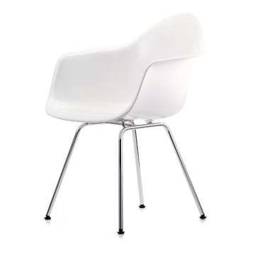 Vitra - Eames Plastic Armchair DAX in Weiss
