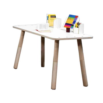 Pure Position - Growing Table Tisch in weiss