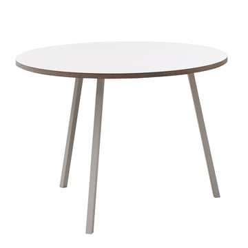Hay - Loop Stand Round Table, weiss