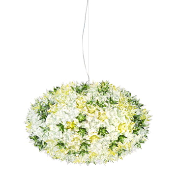 Kartell - Bloom S1 Pendelleuchte, minze