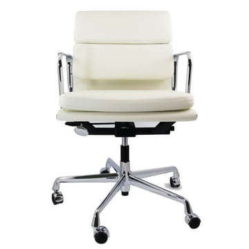 Vitra - Soft Pad Chair EA 217, frontal