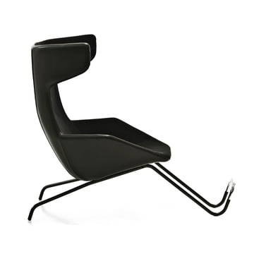 Moroso - take a line for a walk - Leder, schwarz