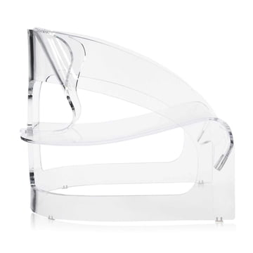 Kartell - Joe Colombo Sessel, transparent - Seite