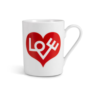 Vitra - Coffee Mug, Love Heart red