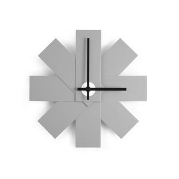 Normann Copenhagen - Watch me Wanduhr, grau