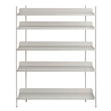 Compile Shelving System (Config. 3) von Muuto in Grau