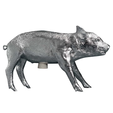 Areaware - Pig Bank Sparschwein, chrom