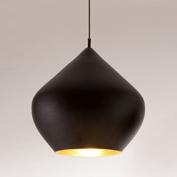 Tom Dixon - Beat Light Stout Pendelleuchte in Schwarz