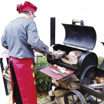 Joe´s Barbeque Smoker - Little Joe Grill