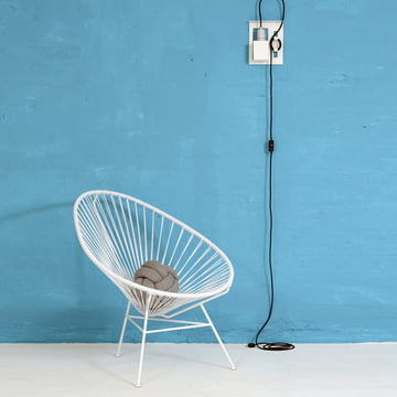 OK Design - The Acapulco Chair, weiss