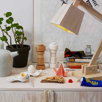 Muuto - Surface Eierbecher / Wood Lamp