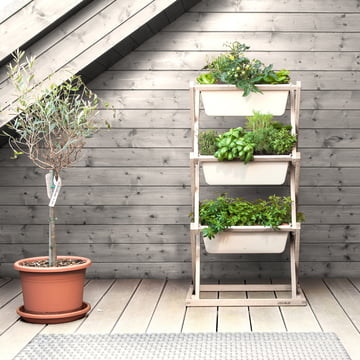Der vertical garden von urbanature 3er Regal