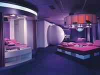 Central living block (1969) auf der Ausstellung Visiona I für Bayer